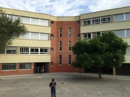 Rehabilitació façanes Institut Príncep de Viana